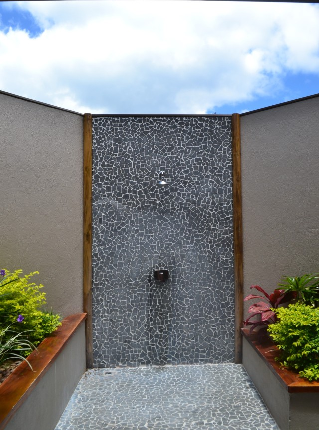 The Open Air Shower