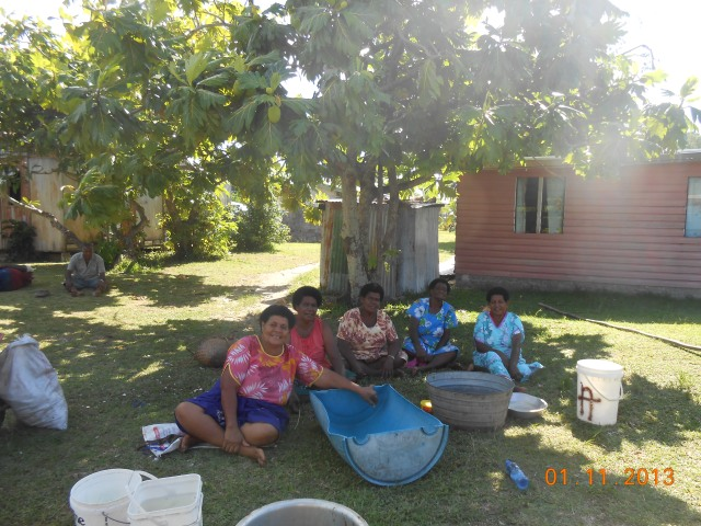 Women from Nacula Village