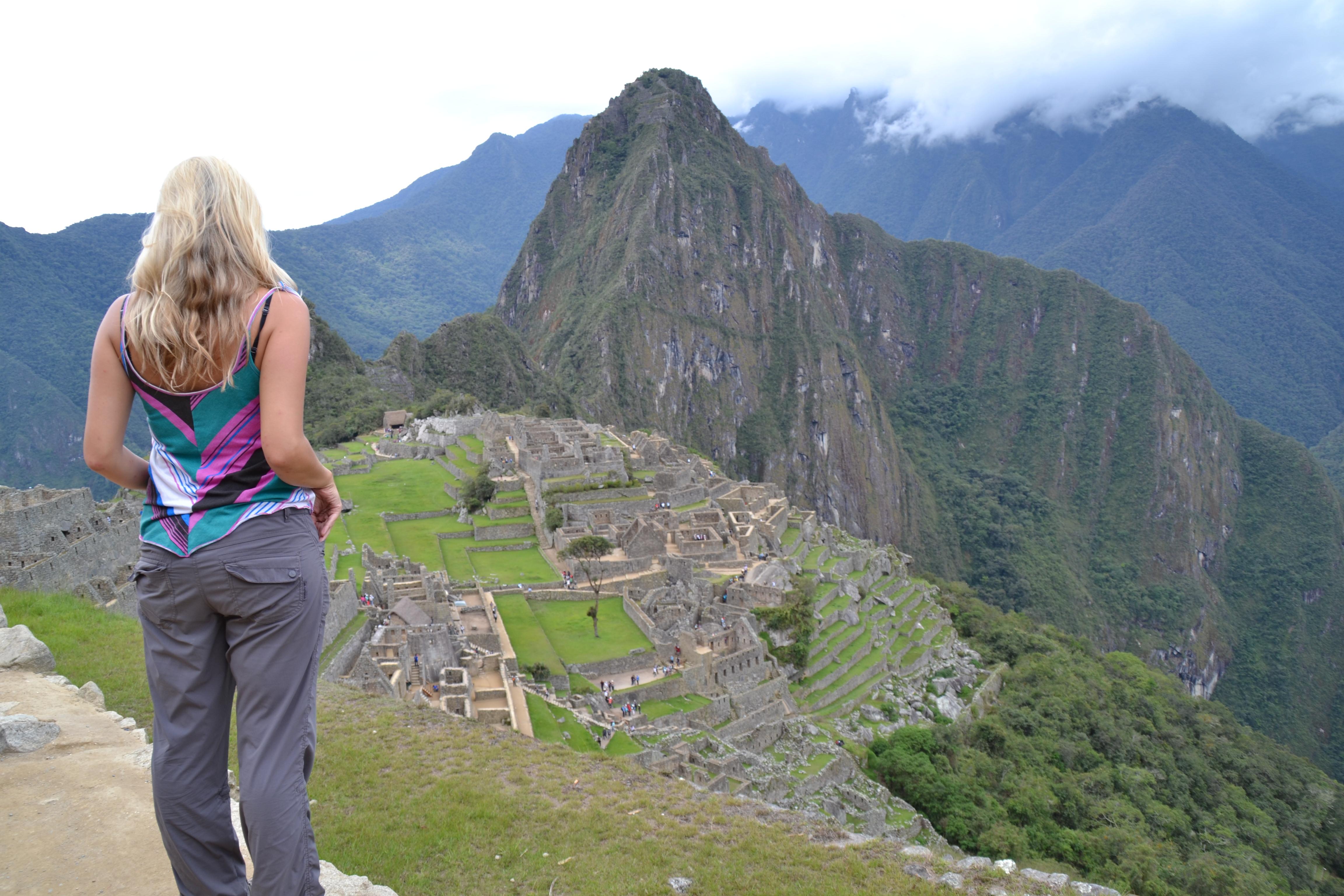 Walking Shoes For Machu Picchu