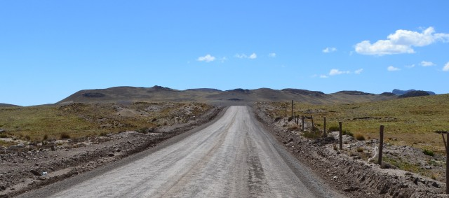 The never-ending road at 14,000ft