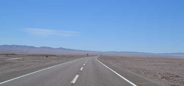 The long and boring road!