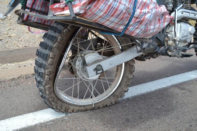 Bent Wheel Rim
