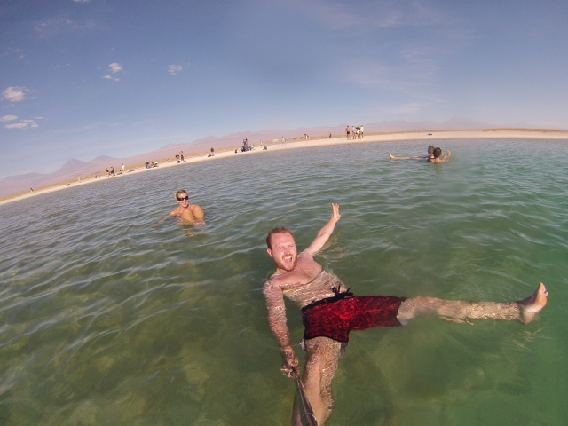 Floating Laguna Cejar