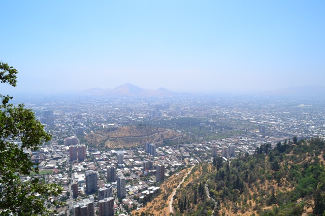 The view from San Cristobal Hill
