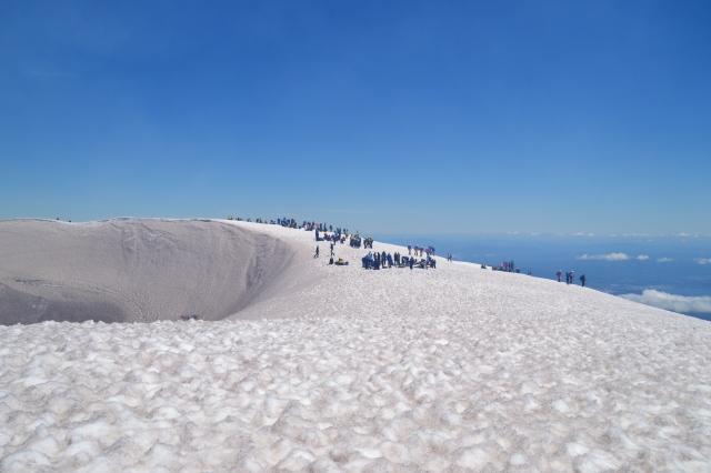 The Crater of Volcan Villarica